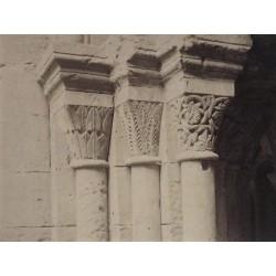 POBLET (TARRAGONA), Detalle Capiteles