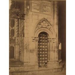 BARCELONA, Entrada de Capilla. Catedral Barcelona