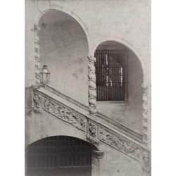 BARCELONA, Escalera de Palacio Dalmases