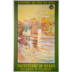 SAUVETERRE DE BEARN. LE GAVE D'OLORON /