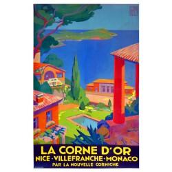 CORNE D'OR. NICE - VILLEFRANCHE -MONACO /