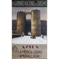 AVILA, LA MISTICA CIUDAD AMURALLADA. PATRONATO NACIONAL DE TURISMO