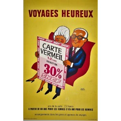 VOYAGES HEUREUX. SNCF /