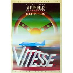 VITESSE. CONCOURS AUTOMOBILES CLASSIQUES ET LOUIS VUITTON /
