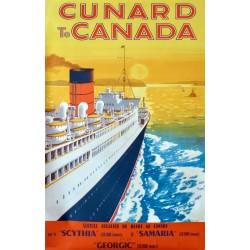 CUNARD TO CANADA /