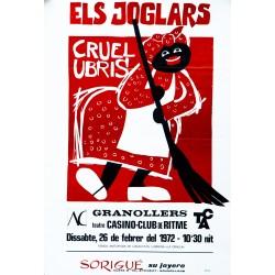 ELS JOGLARS. CRUEL UBRIS. GRANOLLERS 1972