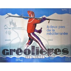 GREOLIERES. LES NIEGES.