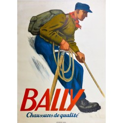 BALLY. CHAUSSURES DE QUALITE /