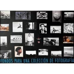 FONDOS PARA UNA COLECCION DE FOTOGRAFIA