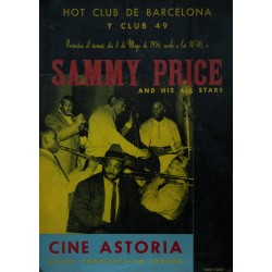 HOT CLU DE BARCELONA Y CLUB 49. SAMMY PRICE. 1956