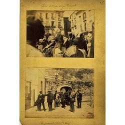 4 FOTOS:LA DONA D'EN TINET (A) -ST. MIQUEL DEL FAY (B) - BALMES (C) ELS VARINS (D). Ph. J. YLLA