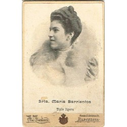 (CdV) MARIA BARRIENTOS. TIPLE LIGERA. Ph. M. MATEOS