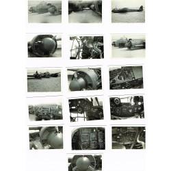 16 FOTOS JUNKER 88 DERRIBADO EN LA POLAYA DE ARTEIXO (Galicia) EN 1942