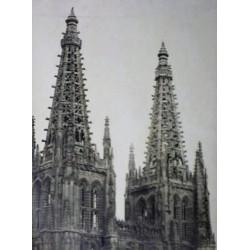 BURGOS. TORRES DE LA CATEDRAL