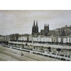 BURGOS. VISTA DE BURGOS TOMADA DESDE EL MUSEO PROVINCIAL