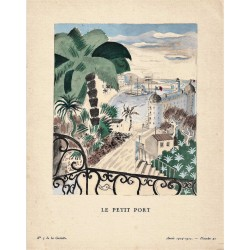 LE PETIT PORT. JACQUES DAMACHY. GAZETTE DU BON TON