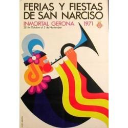 GERONA FERIAS Y FIESTAS DE SAN NARCISO 1971