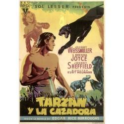 TARZAN Y LA CAZADORA