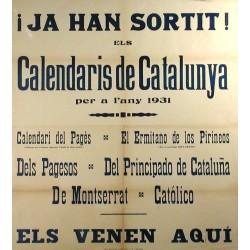 CALENDARIS DE CAT 1931