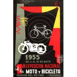 EXPOSICIÓN MOTO Y BICICLETA
