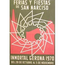 GERONA FERIAS Y FIESTAS DE SAN NARCISO 1970