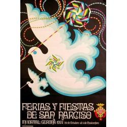 GERONA FERIAS Y FIESTAS DE SAN NARCISO 1974