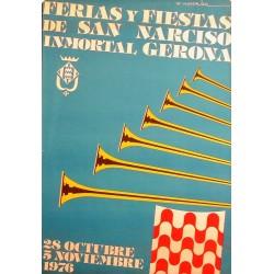 GERONA FERIAS Y FIESTAS DE SAN NARCISO 1976