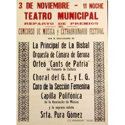 TEATRO MUNICIPAL, CONCURSO DE MUSICA
