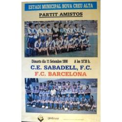 C.E. SABADELL, F.C. - F.C. BARCELONA