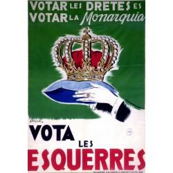 VOTA LES ESQUERRES...VOTAR LES DRETES..
