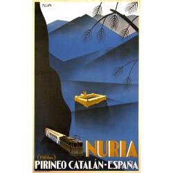NURIA 1964 PIRINEO CATALÁN