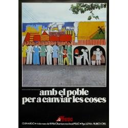 AMB EL POBLE PER CANVIAR LES COSES