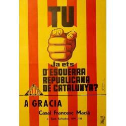 TU JA ETS D'ESQURRA REPUBLICANA...?