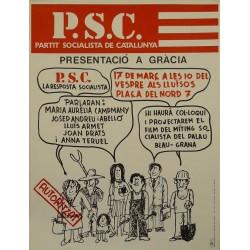 P.S.C. PRESENTACIÓ A GRÀCIA. CESC