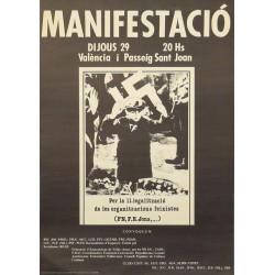 MANIFESTACIÓ PER LA IL.LEGALITZACIÓ...