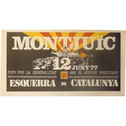 MONTJUIC, 12 DE JUNY 77