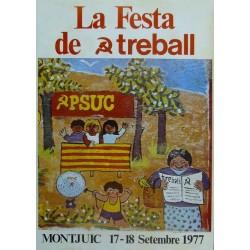 PSUC..LA FESTA TREBALL 1977