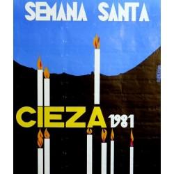 CIEZA SEMANA SANTA 1981