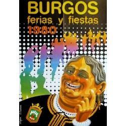 BURGOS FERIAS Y FIESTAS 1980
