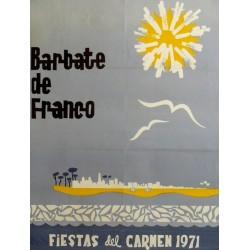 BARBATE DE FRANCO FIESTAS DEL CARMEN 1971