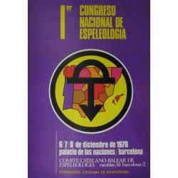 1er. CONGRESO NACIONAL DE ESPELEOLOGIA