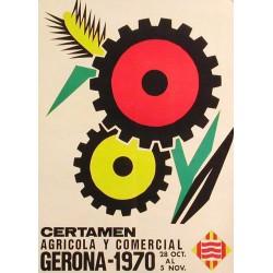 CERTAMEN AGRÍCOLA Y COMERCIAL GERONA 1970