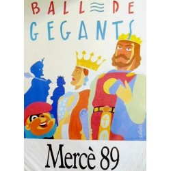 BALL DE GEGANTS, MERCE 89