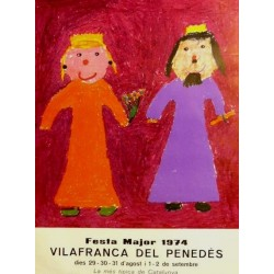 FESTA MAJOR 1974 VILAFRANCA DEL PANADES