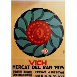 VICH MERCAT DEL RAM- VIC 1974