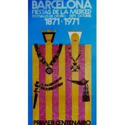 BARCELONA FIESTAS DE LA MERCED 1971