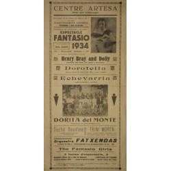 ESPECTACLE FANTASIO 1934