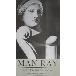 MAN RAY. PALAU DE LA VIRREINA. 1982
