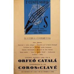 1ER CENTENERIO SOCIEDAD CORAL JUVENTUD TARRASENSE
