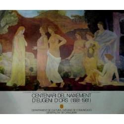 CENTENARI DEL NAIXEMENT D'EUGENI D'ORS